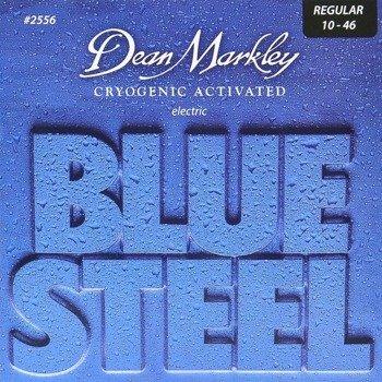 struny do gitary elektrycznej DEAN MARKLEY 2556 BLUE STEEL Medium /010-046/