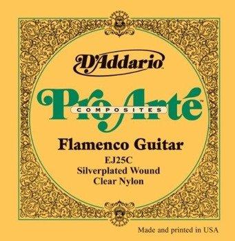 struny do gitary klasycznej D'ADDARIO - PRO ARTE CLR FLAMENCO (EJ25C)