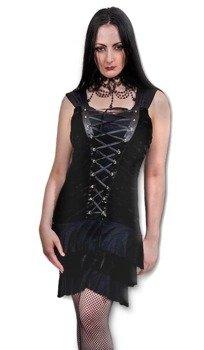 sukienka SPIRAL GOTHICA czarna