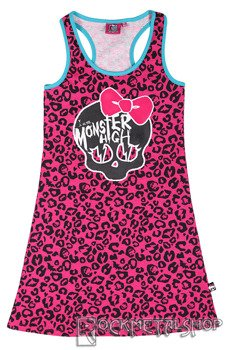 sukienka dziecięca MONSTER HIGH - I AM MONSTER HIGH
