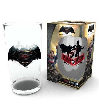 szklanka BATMAN VS SUPERMAN - LOGO