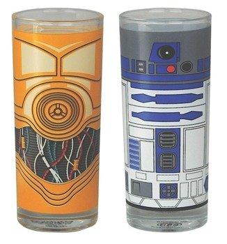 szklanka STARS WARS - R2D2 C3PO,  2 szt