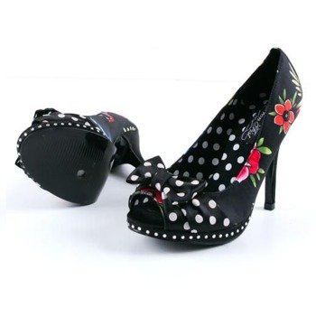 szpilki IRON FIST - SOCIETY SUICIDE HEEL (BLACK)