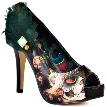 szpilki IRON FIST - VANITY FAIR PLATFORM (BLACK)