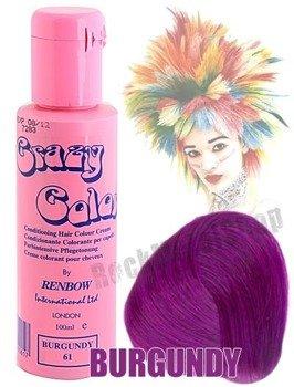 toner do włosów CRAZY COLOR - BURGUNDY [061]