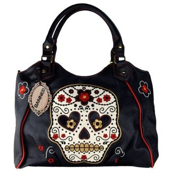 torba BANNED - CANDY SKULL