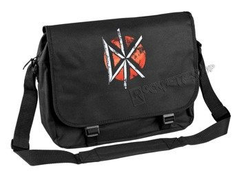 torba DEAD KENNEDYS - DISTRESSED LOGO BLACK, na ramię