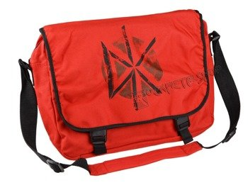 torba DEAD KENNEDYS - DISTRESSED LOGO RED, na ramię