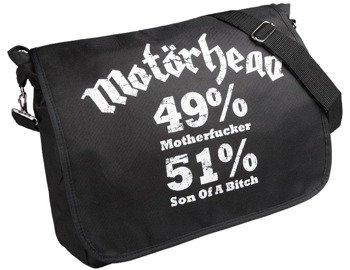 torba na ramię MOTORHEAD - 49% MOTHERFUCKER, 51% SON OF A BITCH