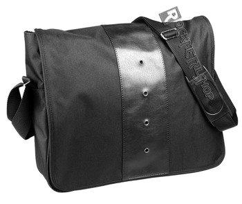 torba na ramię duża CZARNA + skóra ekologiczna