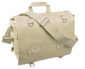 torba na ramię khaki, duża