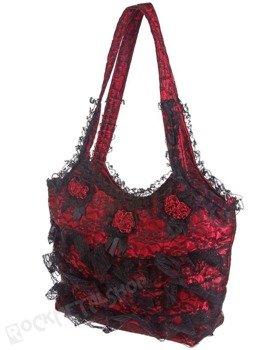 torebka BARES RED BLACK
