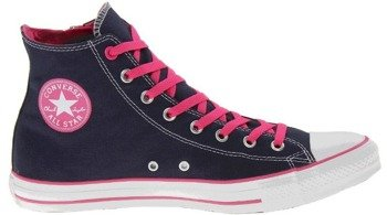 trampki CONVERSE - CHUCK TAYLOR ALL STAR CT SIDE ZIP HI ATHLETIC NAV