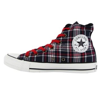 trampki CONVERSE - CHUCK TAYLOR ALL STAR PLAID HI MULTI (DARK NAVY/