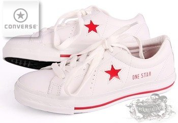 trampki damskie CONVERSE - ONE STAR PREMIERE OS OX (WHITE/RED)