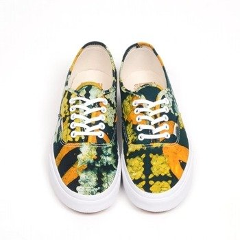 trampki damskie VANS - AUTHENTIC DELLA BATIK YELLOW