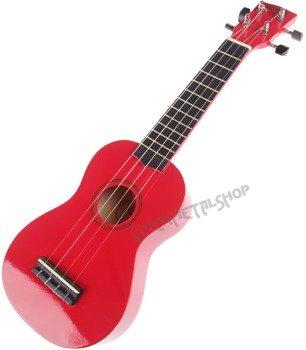 ukulele sopranowe KORALA czerwone