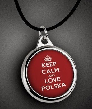 wisior KEEP CALM AND LOVE POLSKA
