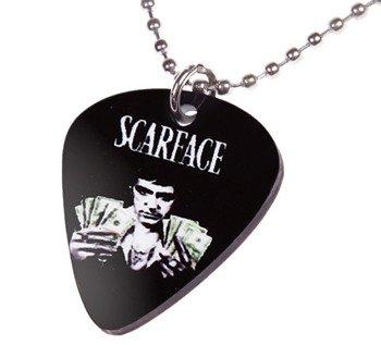 wisior kostka gitarowa SCARFACE