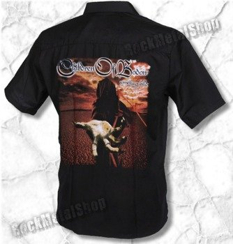 workshirt CHILDREN OF BODOM - SOMETHING WILD