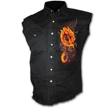 workshirt FIRE DRAGON bez rękawów