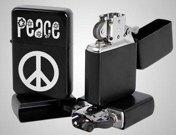 zapalniczka PEACE - PACYFKA