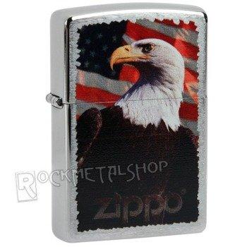 zapalniczka ZIPPO - BALD EAGLE FLAG
