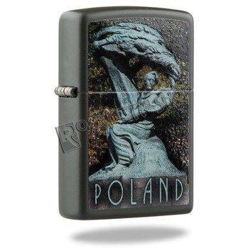zapalniczka ZIPPO - CHOPIN MONUMENT GREEN MATTE