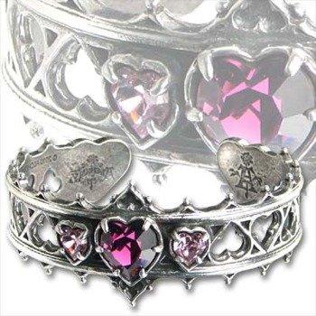 zestaw bransoleta + pierścień ELIZABETHAN [A78+ R156] Alchemy Gothic
