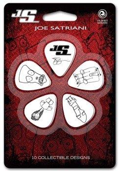 zestaw kostek JOE SATRIANI / WHITE (10 szt)