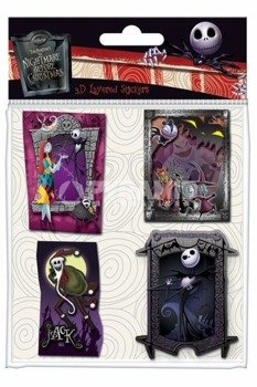 zestaw naklejek THE NIGHTMARE BEFORE CHRISTMAS - 3D LAYERED PACK (SS0016)