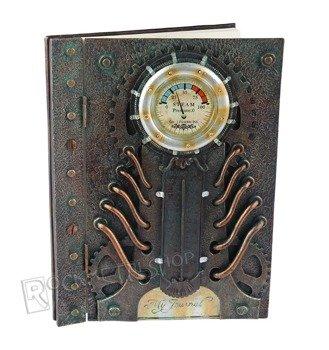 zeszyt STEAMPUNK CLOCK  A4