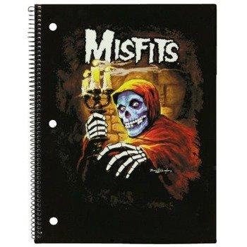 zeszyt/notes MISFITS - PSYCHO gruba linia