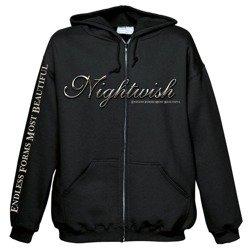 bluza NIGHTWISH - GLOBE, rozpinana z kapturem