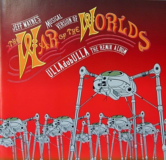 2 x CD: JEFF WAYNE - WAR OF THE WORLDS: ULLADUBULLA: REMIX ALBUM (digipack)