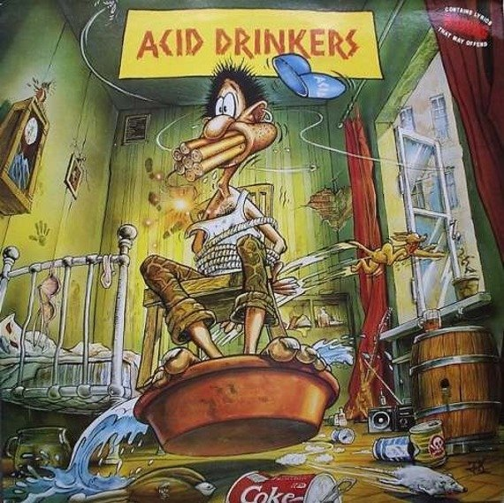 ACID DRINKERS: ARE YOU A REBEL (CD)