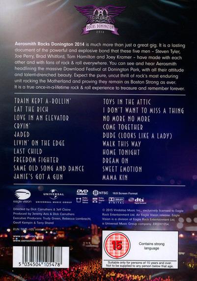 AEROSMITH: rocks donnington 2014 (DVD)