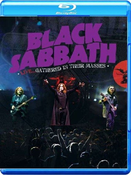 BLACK SABBATH: LIVE...GATHERED IN THEIR MASSES (BLU-RAY+CD)