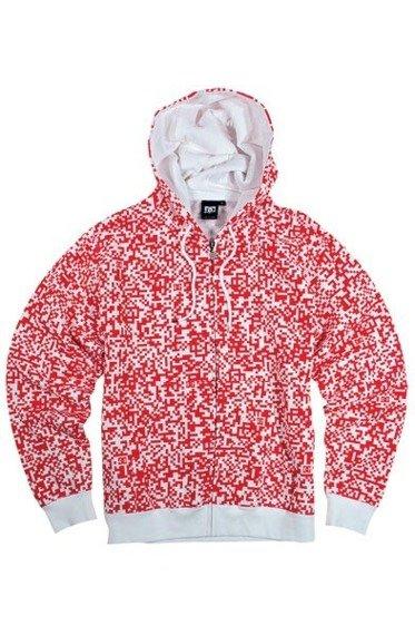 Bluza z suwakiem DC(CODED) (WHITE)