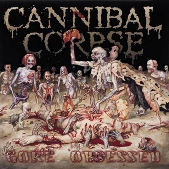 CANNIBAL CORPSE: GORE OBSESSED (LP VINYL)