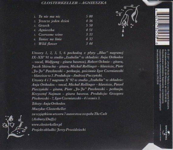 CLOSTERKELLER : AGNIESZKA (CD)