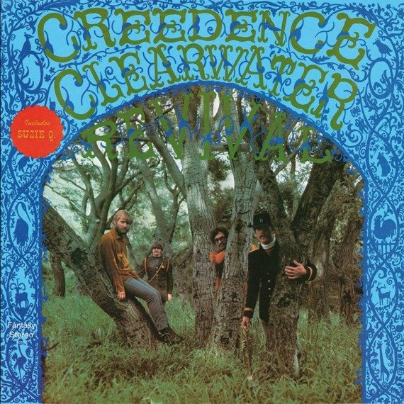 CREEDENCE CLEARWATER REVIVAL: CREEDENCE CLEARWATER REVIVAL (CD)
