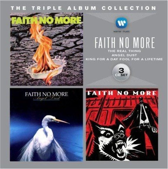 FAITH NO MORE: THE TRIPLE ALBUM COLLECTION (3CD)