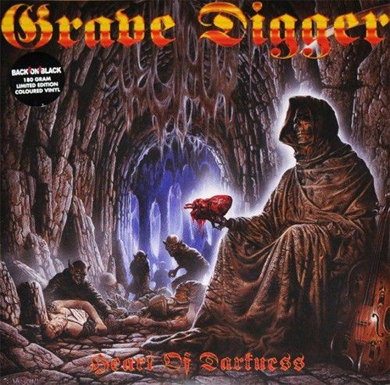 GRAVE DIGGER: HEART OF DARKNESS (2LP VINYL)