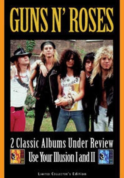 GUNS N'ROSES: UNDER REVIEW: ILLUSION I & II  (DVD)