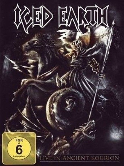 ICED EARTH : LIVE IN ANCIENT KOURION (DVD)
