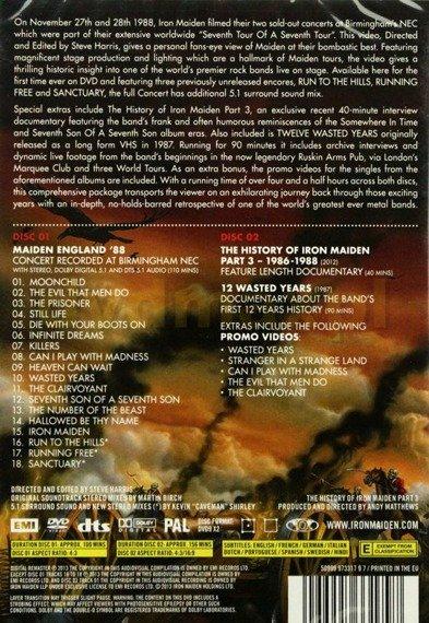 IRON MAIDEN: MAIDEN ENGLAND '88 (2DVD)