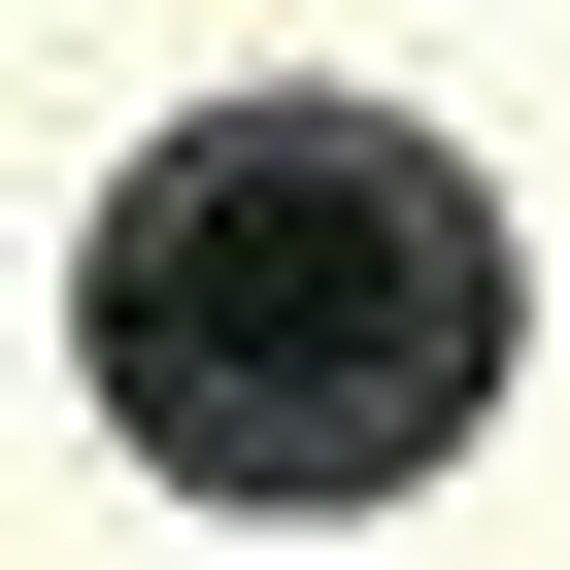 KOLCZYK DO BRODY WARGI LABRET 316L BLACK LINE OCZKO CZARNE kulka 2,5mm