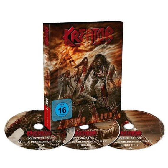 KREATOR: DYING ALIVE (DVD+2CD)