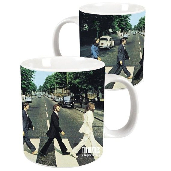 Kubek THE BEATLES - ABBEY ROAD gigant (1 LITR)